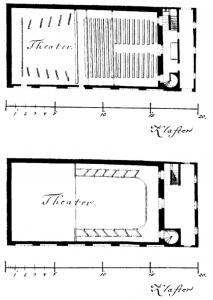 Das Freihaustheater nach Schikaneders Umbau, 1789