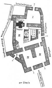 Das Freihaus, Grundriss